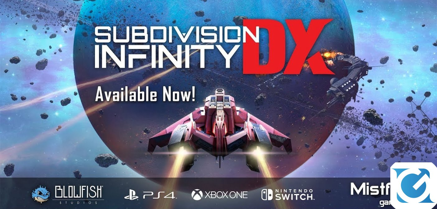 Subdivision Infinity DX è disponibile per PC e console