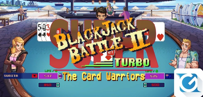Super Blackjack Battle II Turbo edition e' disponibile su Steam