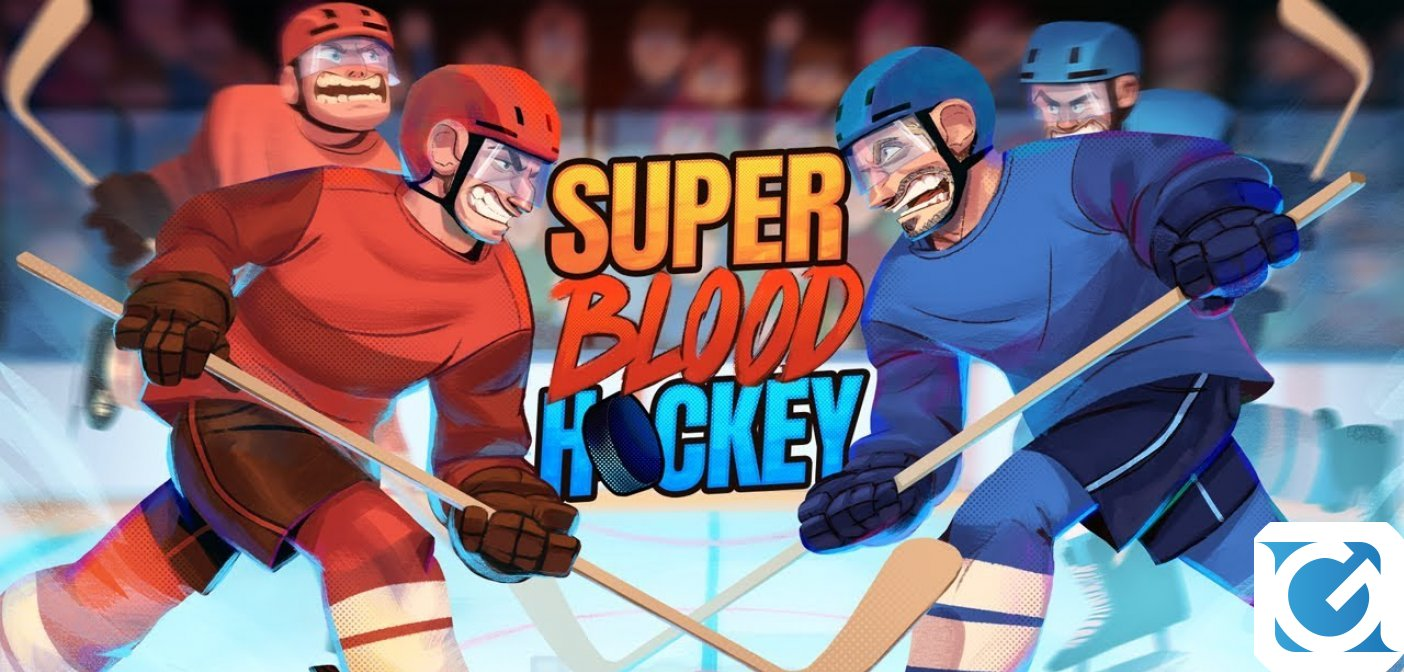 Super Blood Hockey: confermata la release date per XBOX One e Playstation 4
