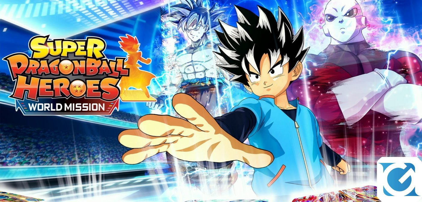 SUPER DRAGON BALL HEROES WORLD MISSION disponibile per Switch e PC