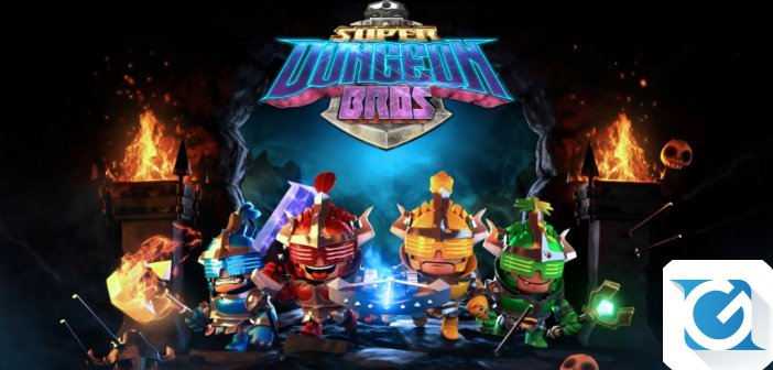 Week end gratuito su Steam per Super Dungeon Bros