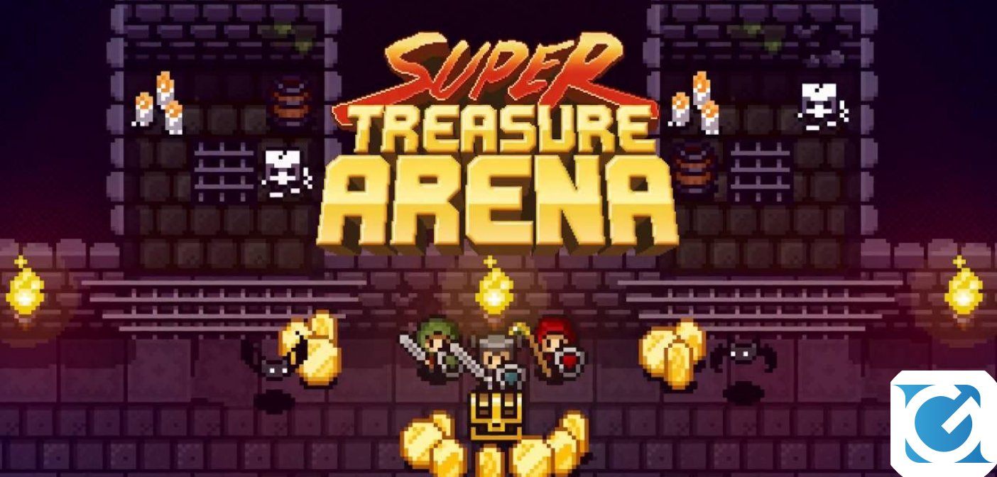 Super Treasure Arena annunciato per Switch