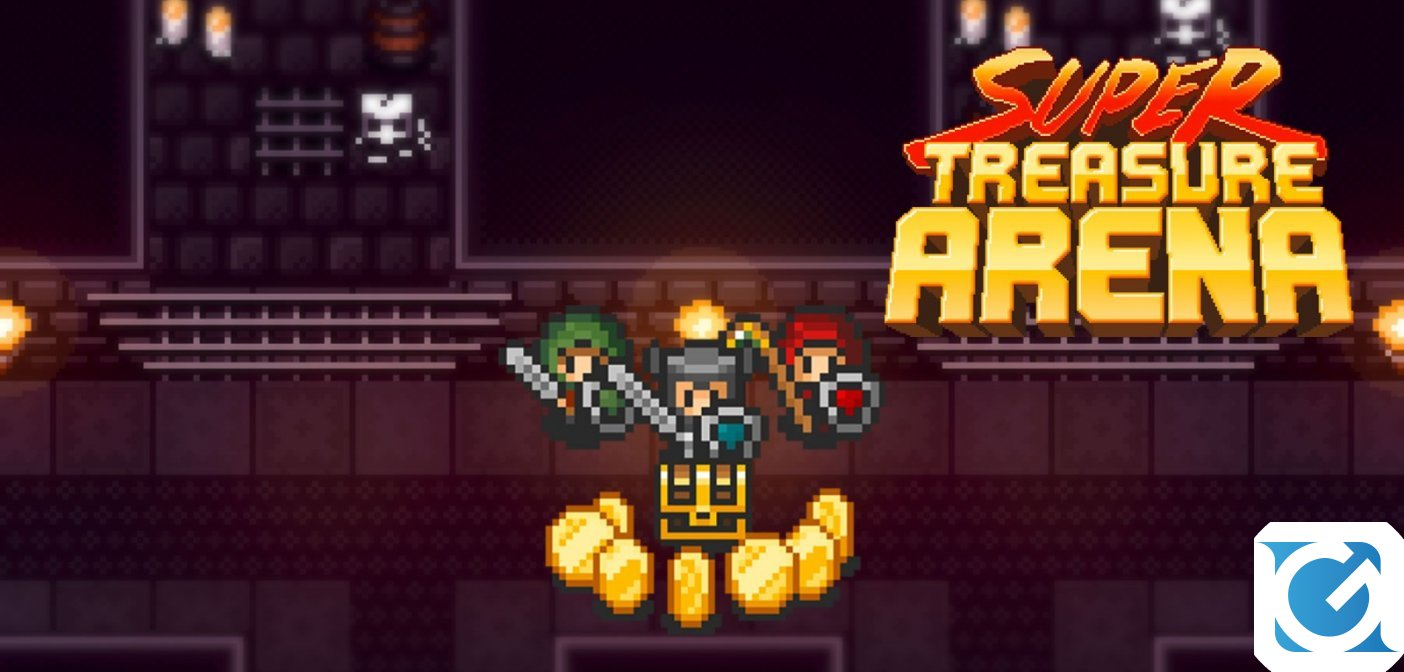 Recensione Super Treasure Arena per Nintendo Switch - Pixel, tesori ed arene!