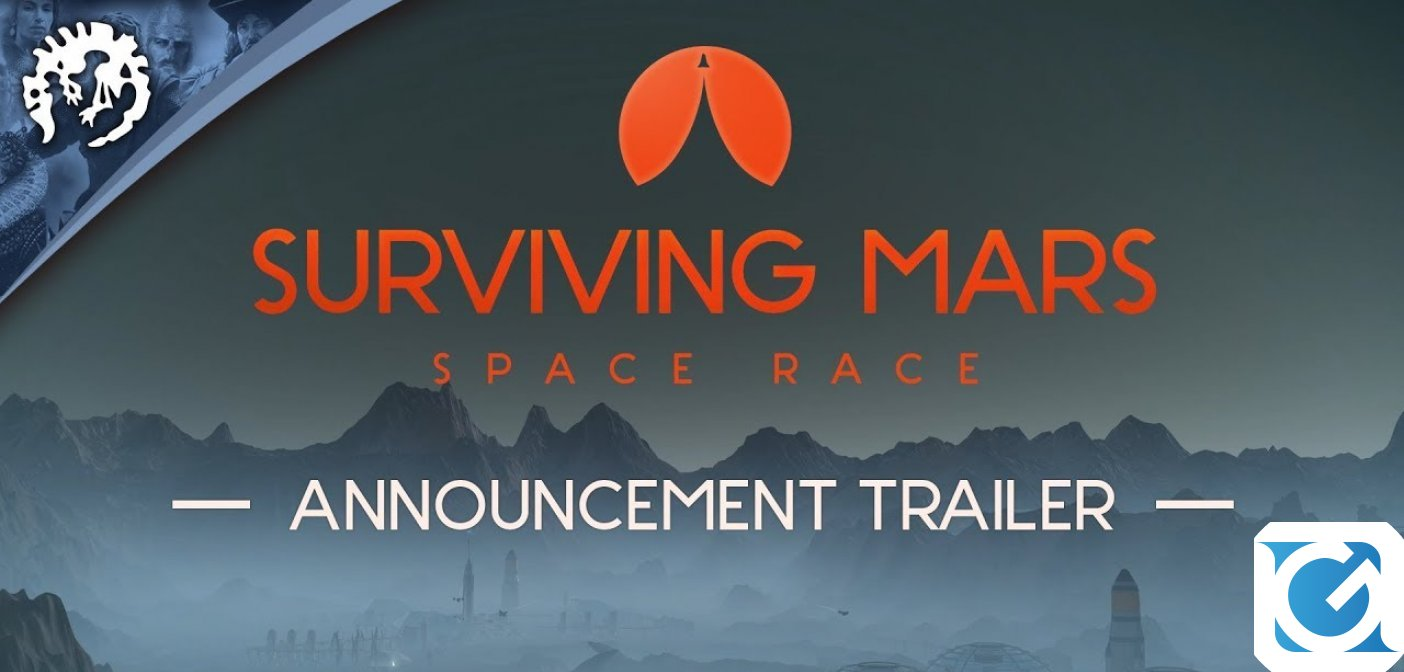 Surviving Mars: Space Race arriva il 15 novembre