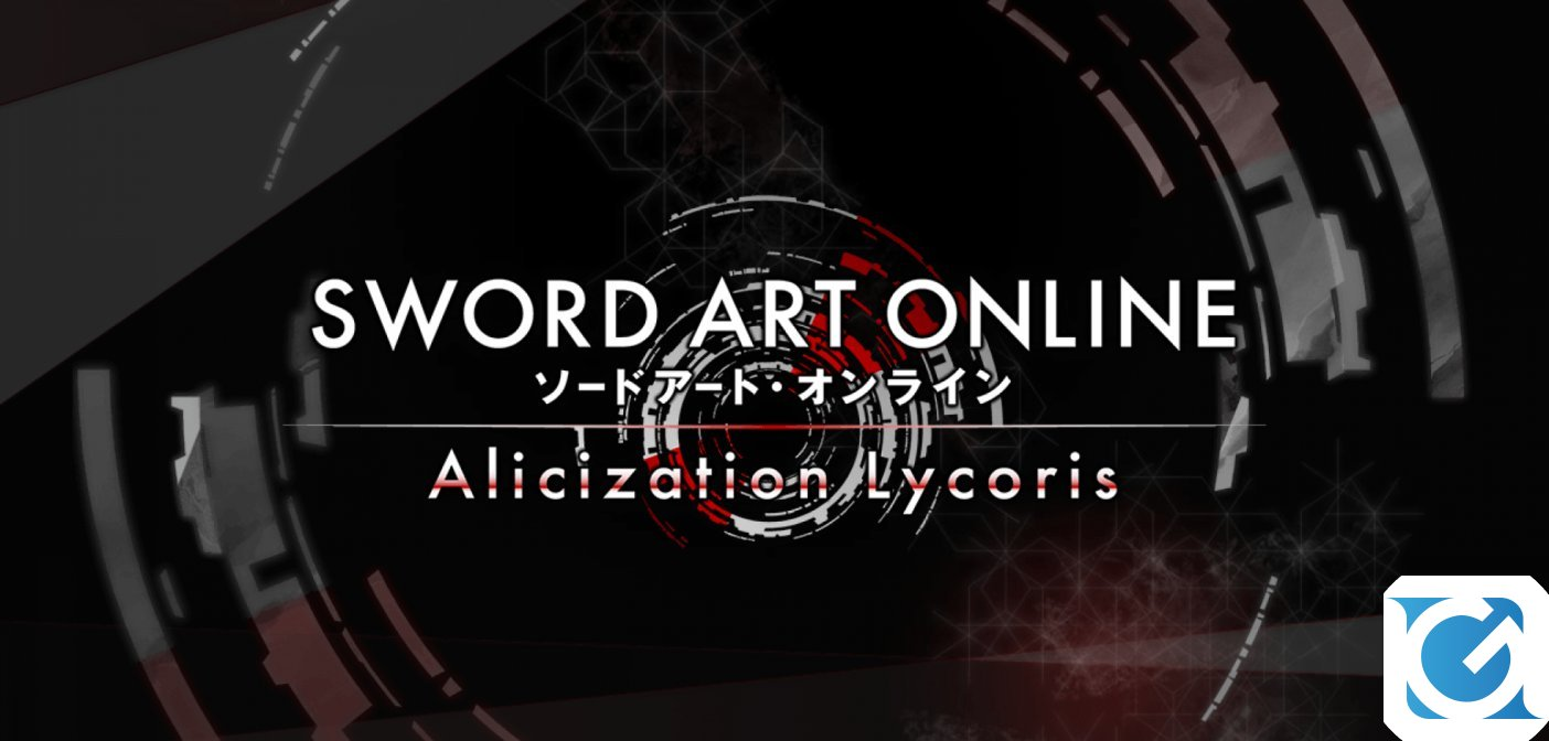Annunciato SWORD ART ONLINE Alicization Lycoris!
