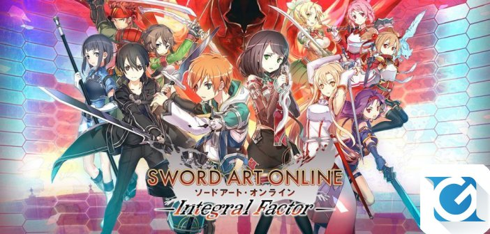 SWORD ART ONLINE: Integral Factor - Ora disponibile in tutto il mondo su App Store e Google Play
