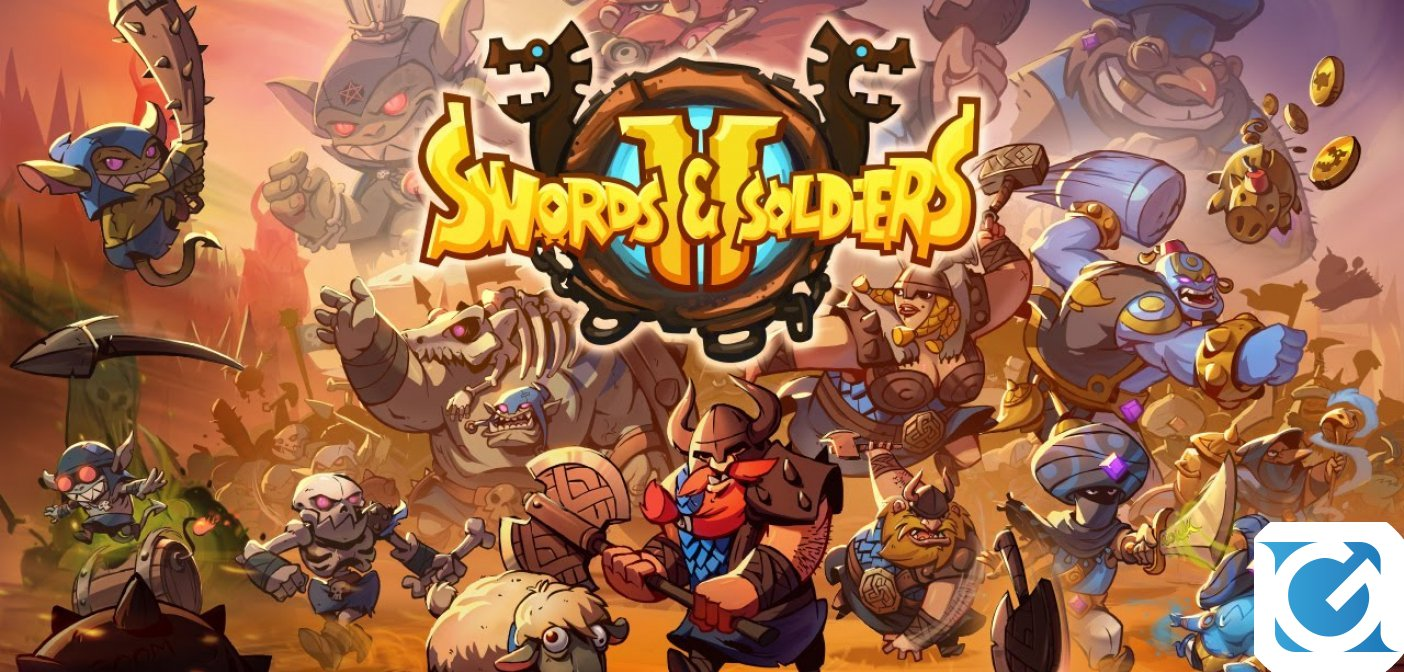 Swords and Soldiers 2 Shawarmageddon è disponibile su Steam