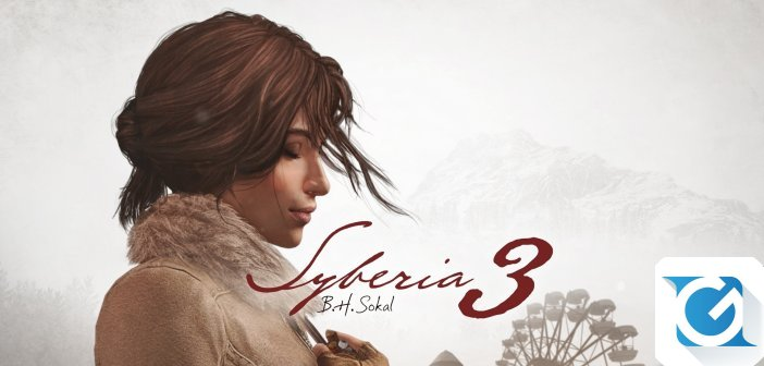Syberia 3 e' disponibile per XBOX One, Playstation 4 e PC