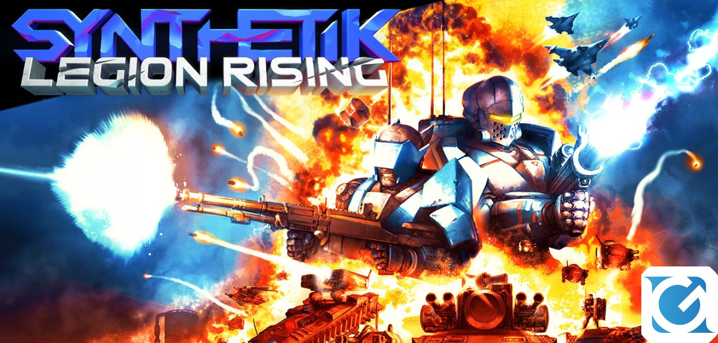 SYNTHETIK: l'aggiornamento Legion Rising e' disponibile