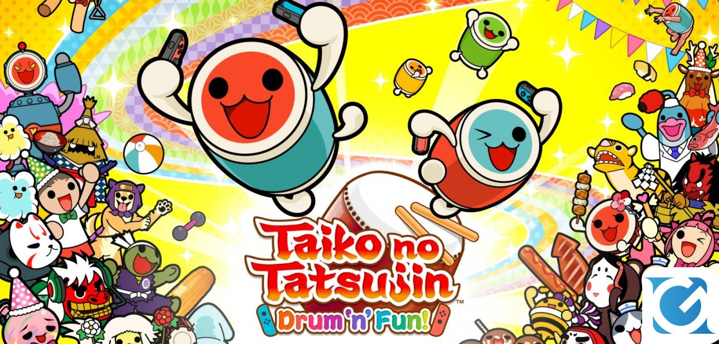 Taiko no Tatsujin: Drum 'n' Fun è disponibile in Italia per Switch