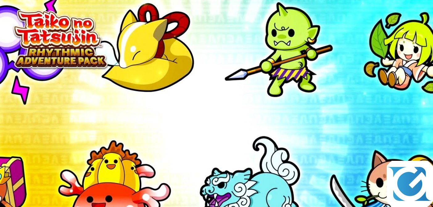 Taiko No Tatsujin: Rhythmic Adventure Pack sarà disponibile dal 3 dicembre 2020 per Switch