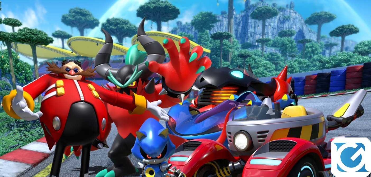 Team Sonic Racing: ecco il Team Eggman!