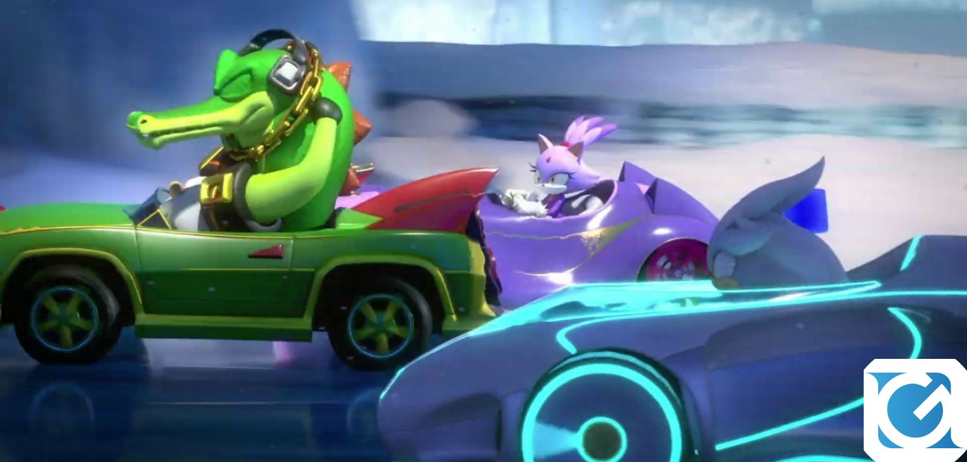 Team Sonic Racing è finalmente disponibile
