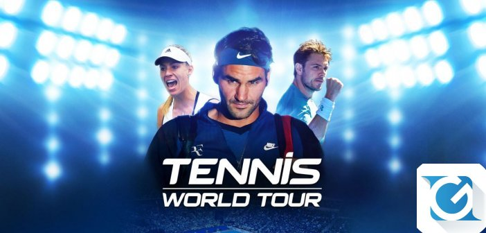 Tennis World Tour e' finalmente disponibile per Playstation 4