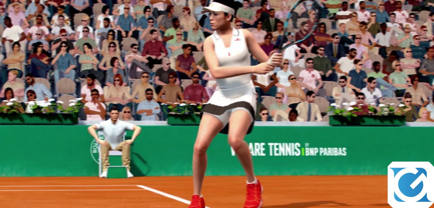 Tennis World Tour Roland-Garros è disponibile per PC e console