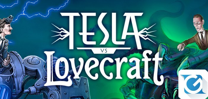 Tesla Vs Lovercraft e' disponibile su Steam