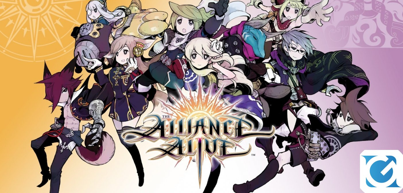 The Alliance Alive HD Remastered arriva in autunno per PS4, Switch e PC