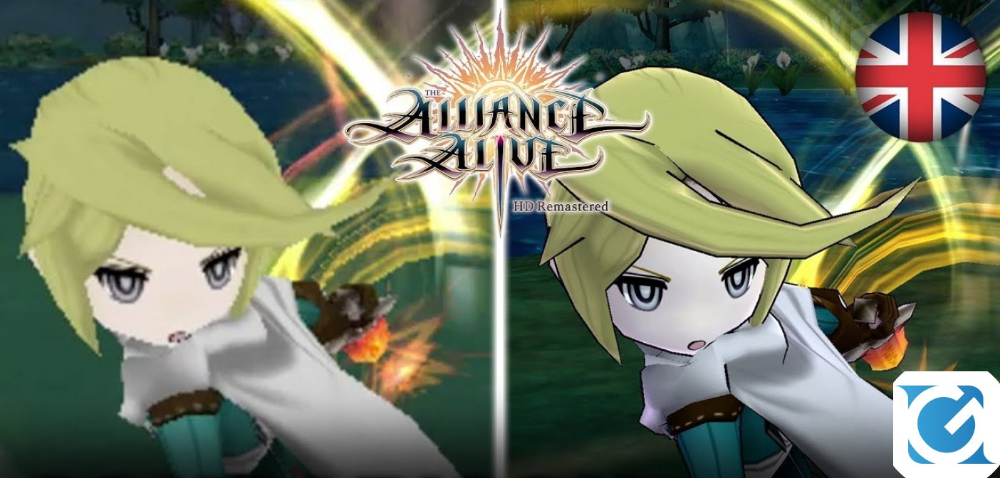 A ottobre The Alliance Alive HD Remastered arriva su Switch e PS4