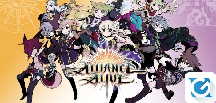 The Alliance Alive e' disponibile su Nintendo 3DS