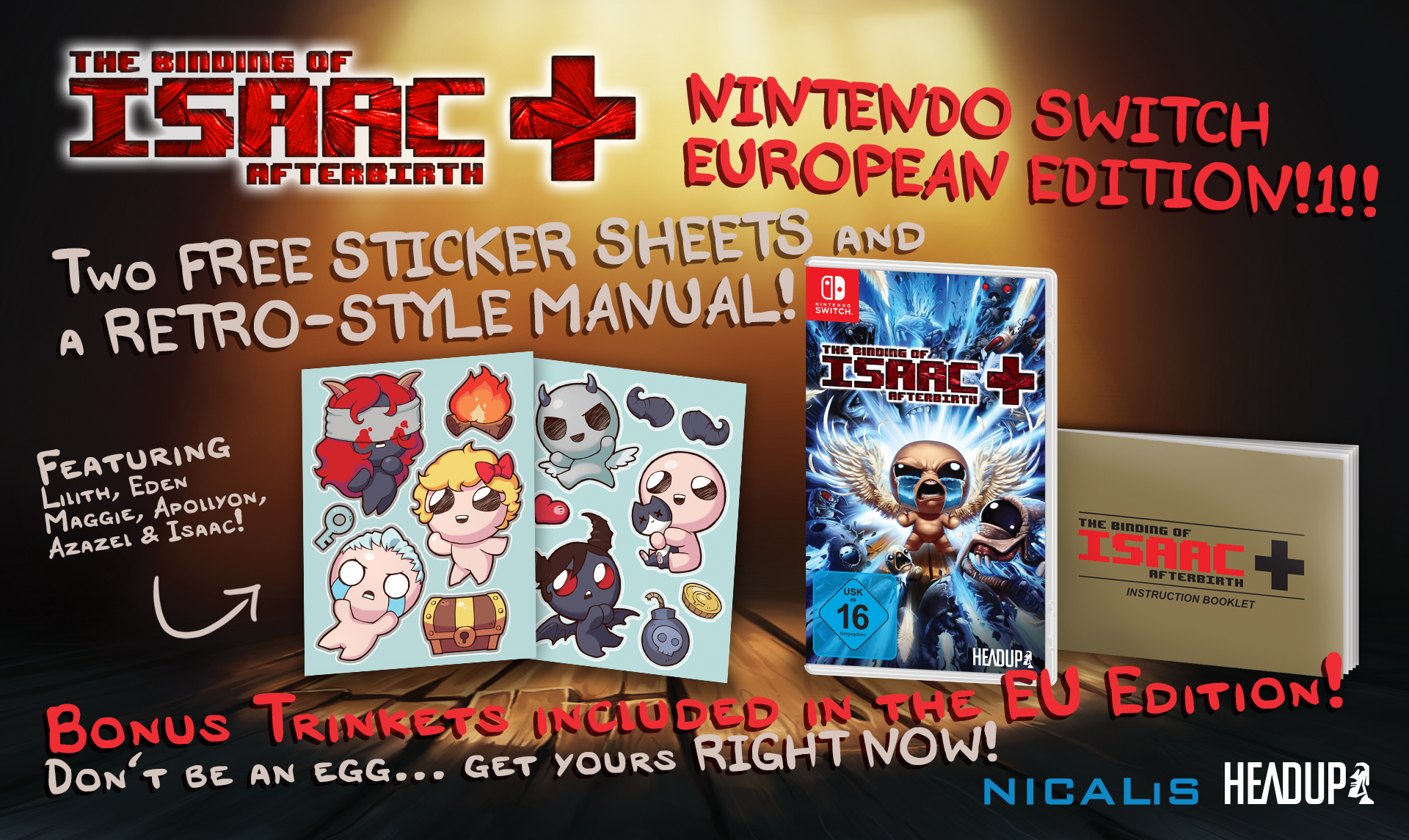 The Binding Of Isaac: Afterbirth + Extra content