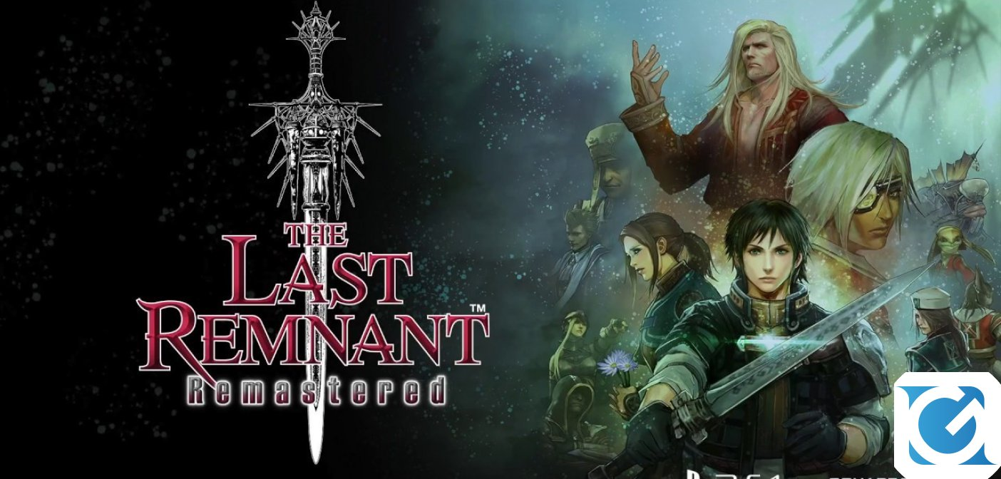 THE LAST REMNANT Remastered è disponibile per PS4
