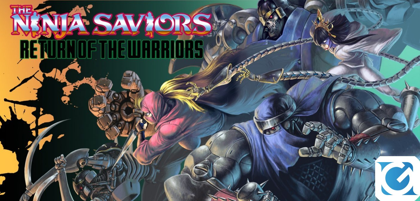 The Ninja Saviors - Return of the Warriors è disponibile per Switch e PS 4