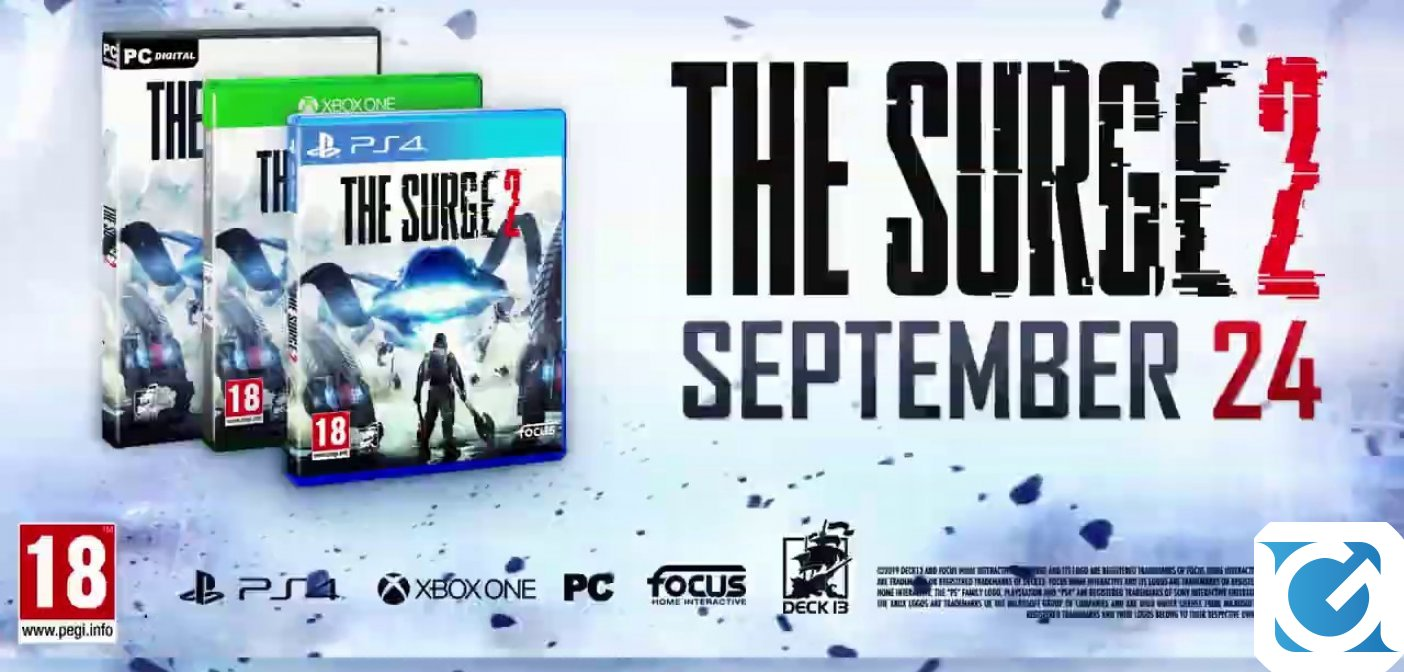 The Surge 2 si mostra in un trailer di lancio