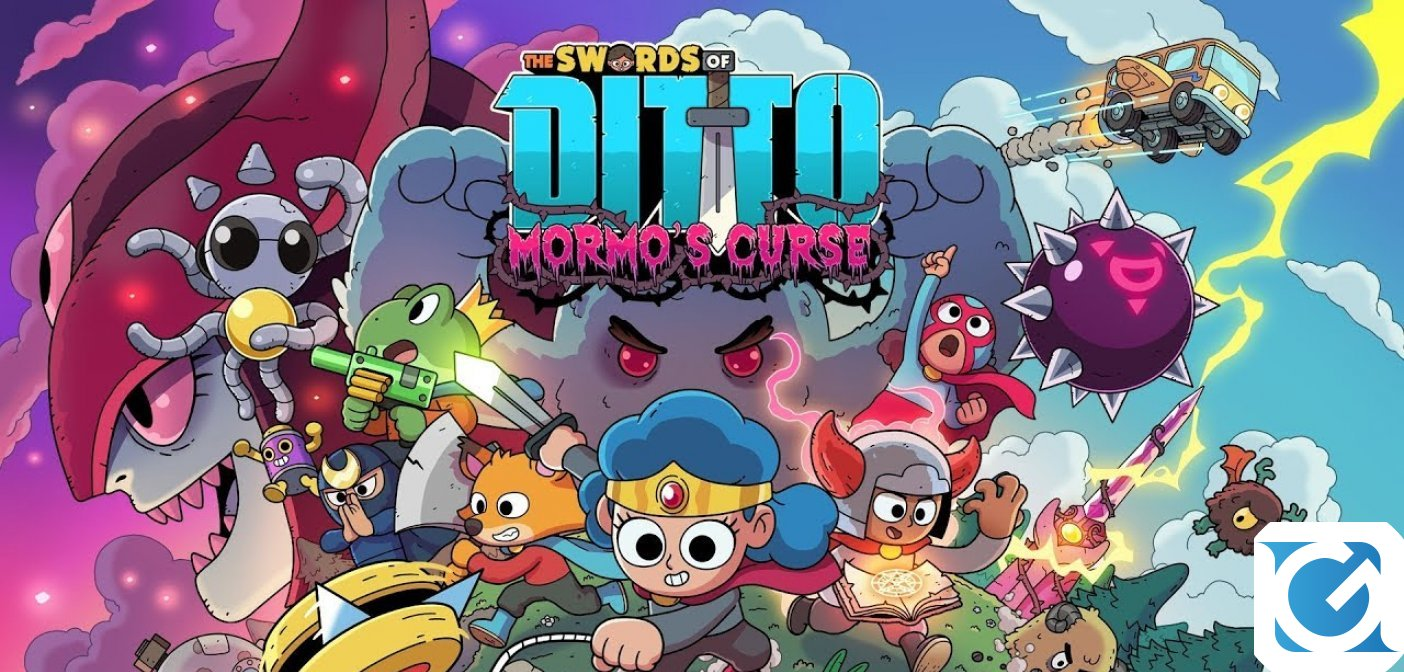 The Swords of Ditto: Mormo's Curse arriva su Nintendo Switch