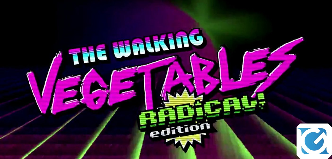 The Walking Vegetables: Radical! Edition è in arrivo su Switch