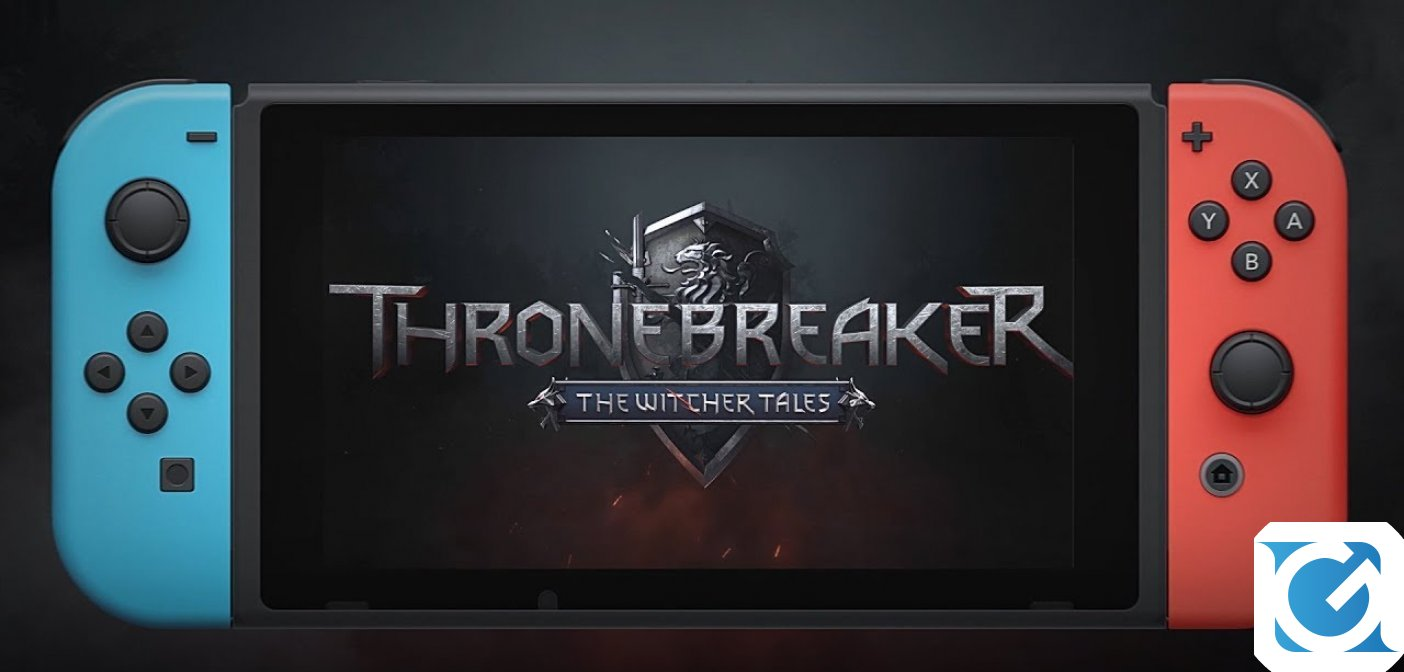 Thronebreaker: The Witcher Tales è disponibile per Nintendo Switch