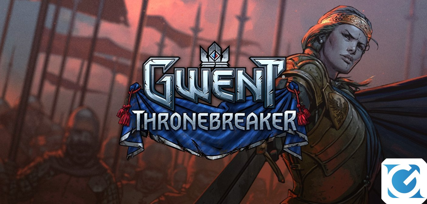 Thronebreaker: The Witcher Tales arriva su Steam