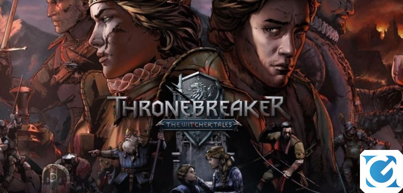 Thronebreaker: The Witcher Tales è disponibile per XBOX One e PS4