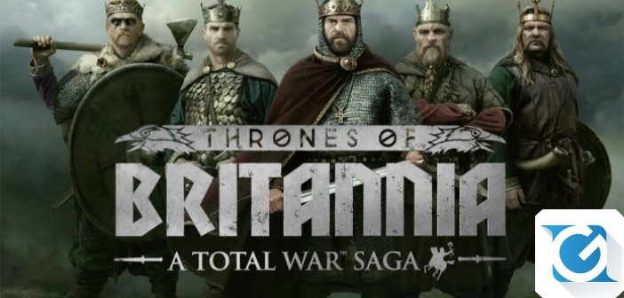 A Total War Saga: Thrones of Britannia e' disponibile