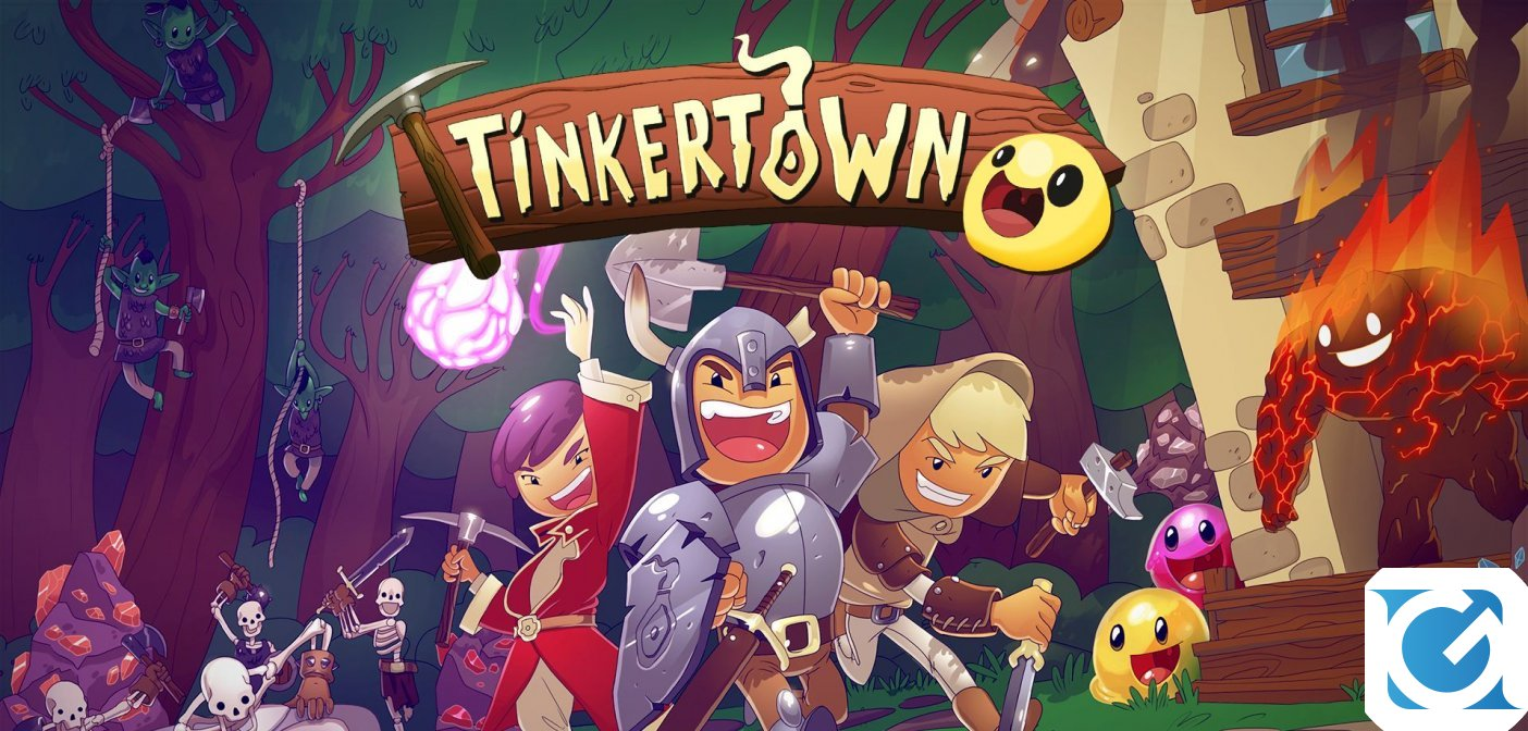 Tinkertown debutta in Early Access il 3 dicembre