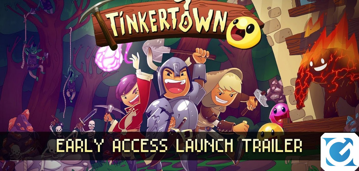 Tinkertown è disponibile su PC via Steam Early Access