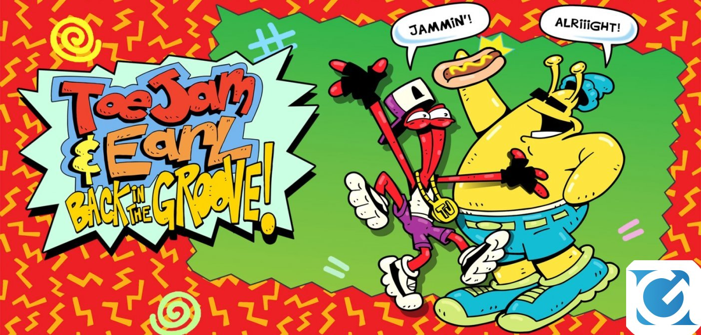 ToeJam & Earl: Back in the Groove! è disponibile per Switch, XBOX One, PS4 e PC