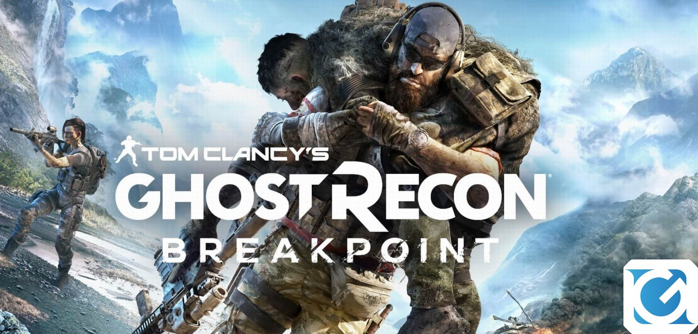 Tom Clancy's Ghost Recon Breakpoint è disponibile
