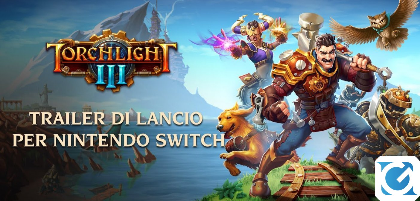 Torchlight 3 è disponibile per Nintendo Switch