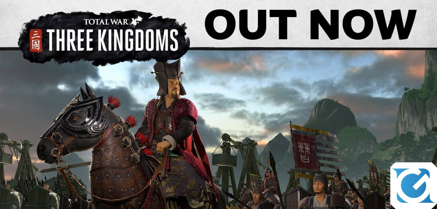 Total War:THREE KINGDOMS è disponibile per PC