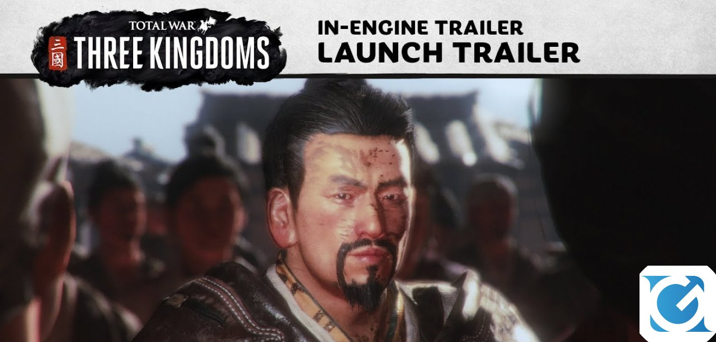 Svelato il trailer di lancio di Total War: THREE KINGDOMS!