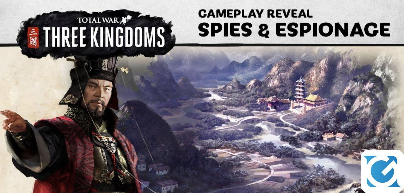 Scopriamo l'arte dello spionaggio con Total War: THREE KINGDOMS
