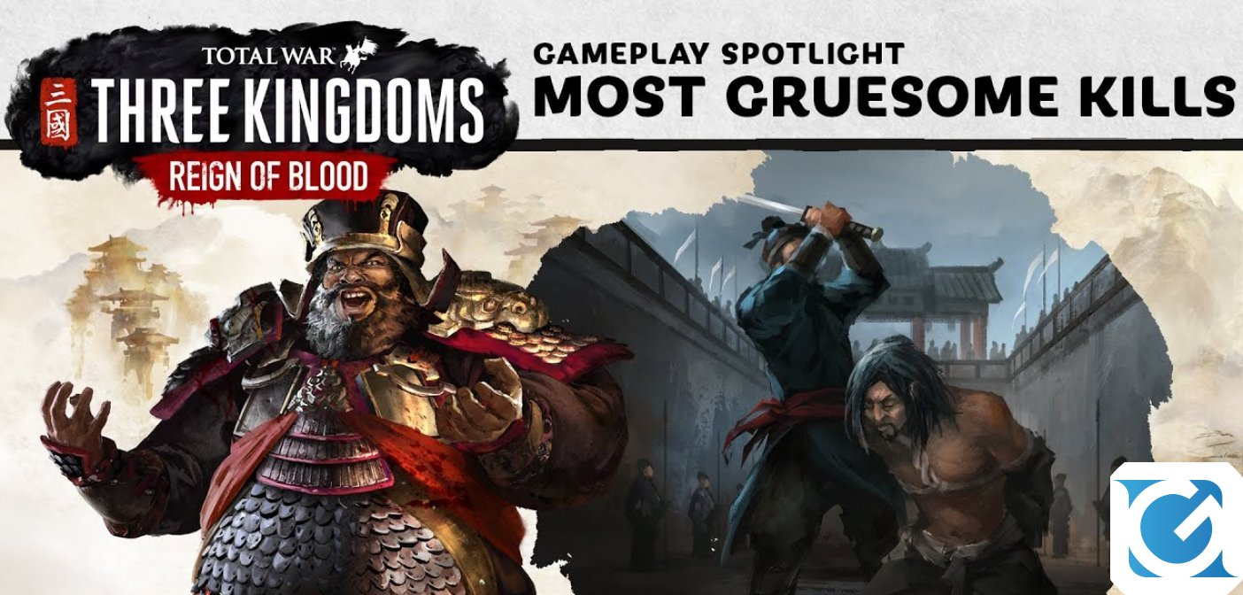Il DLC Reign of Blood è disponibile per Total War: Three Kingdoms