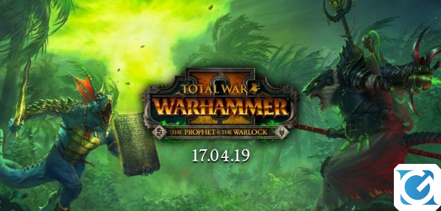 The Prophet & The Warlock: ecco il nuovo DLC di Total War: Warhammer 2