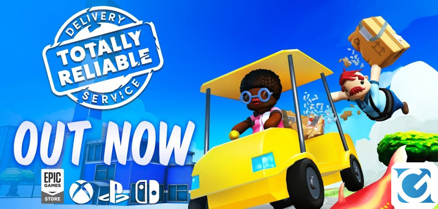Totally Reliable Delivery Service è disponibile su PC e console