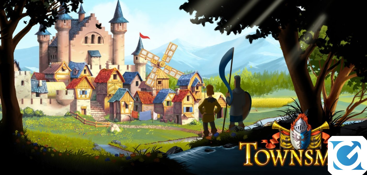 Townsmen ora disponibile per Nintendo Switch