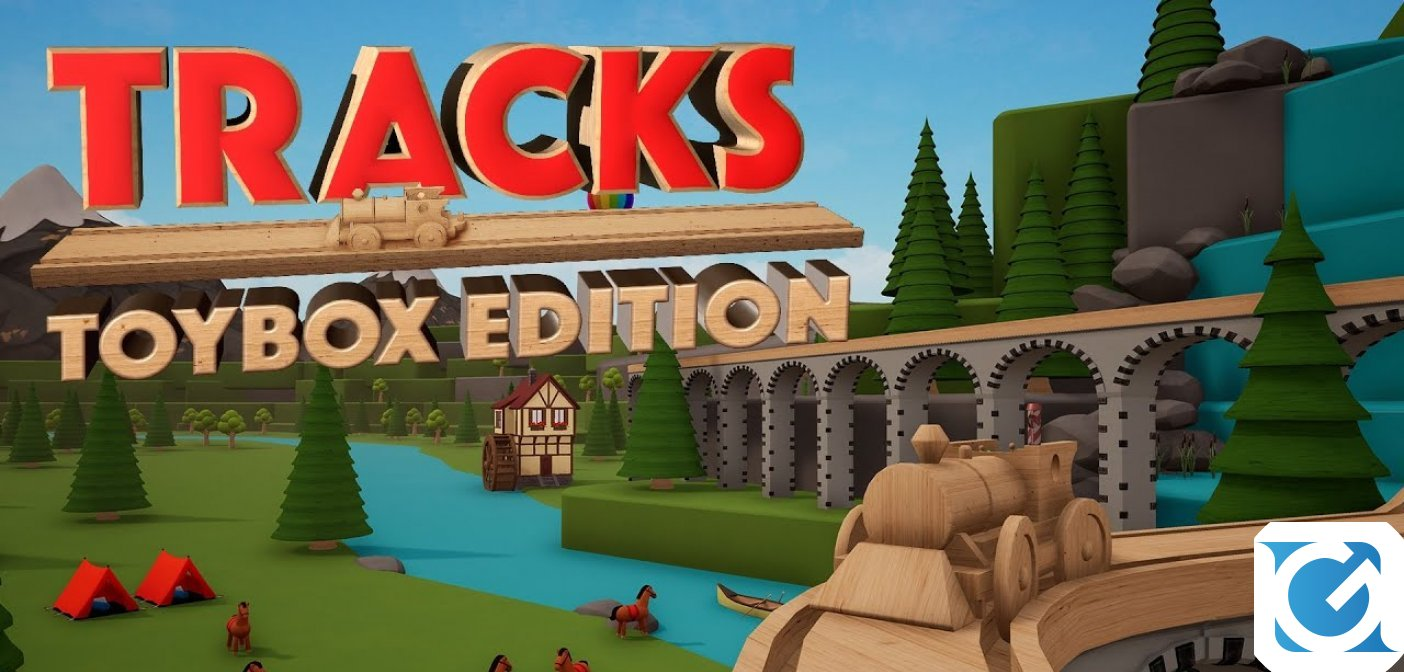 Tracks - Toybox Edition arriva su Nintendo Switch