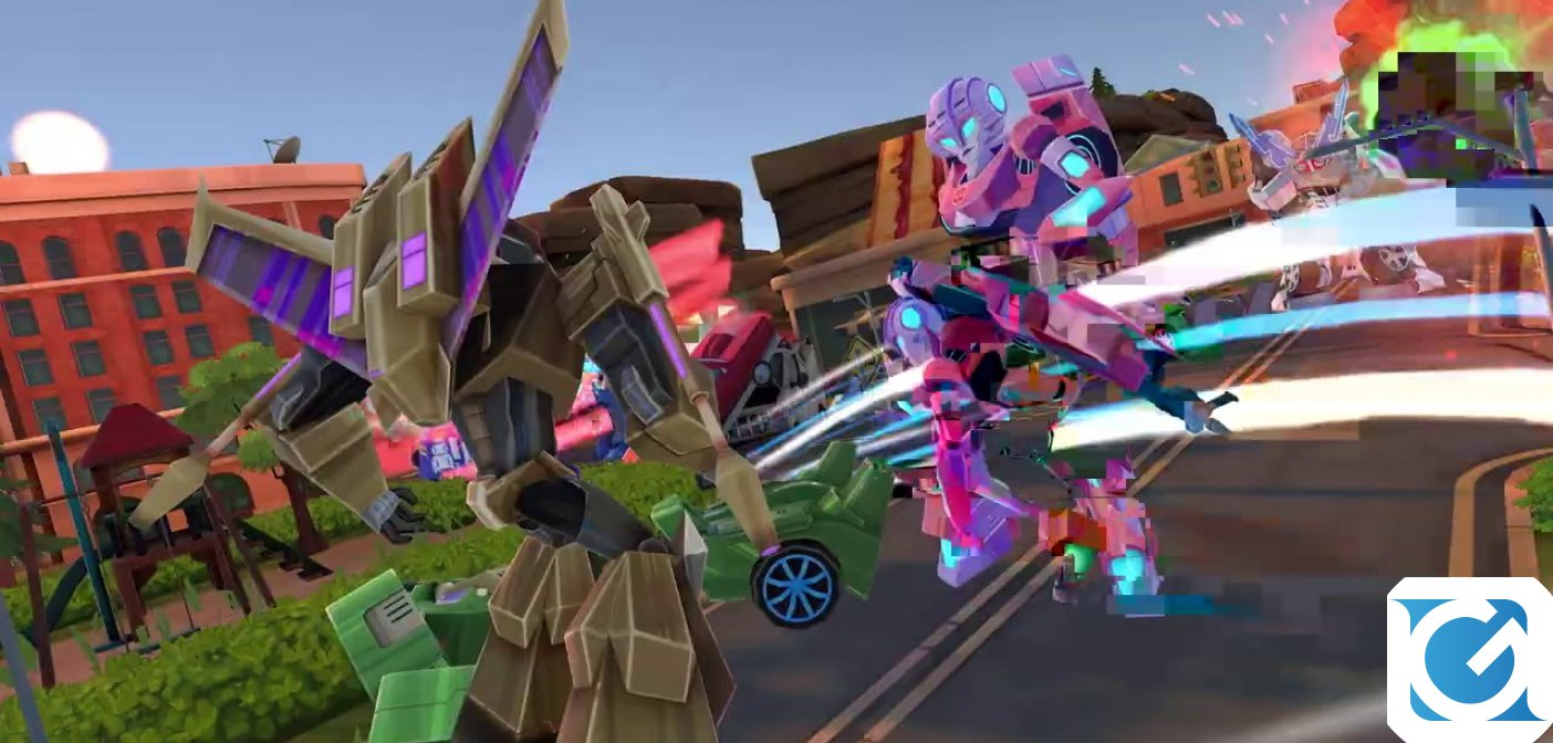 Transformers: Battlegrounds è disponibile per PC e console
