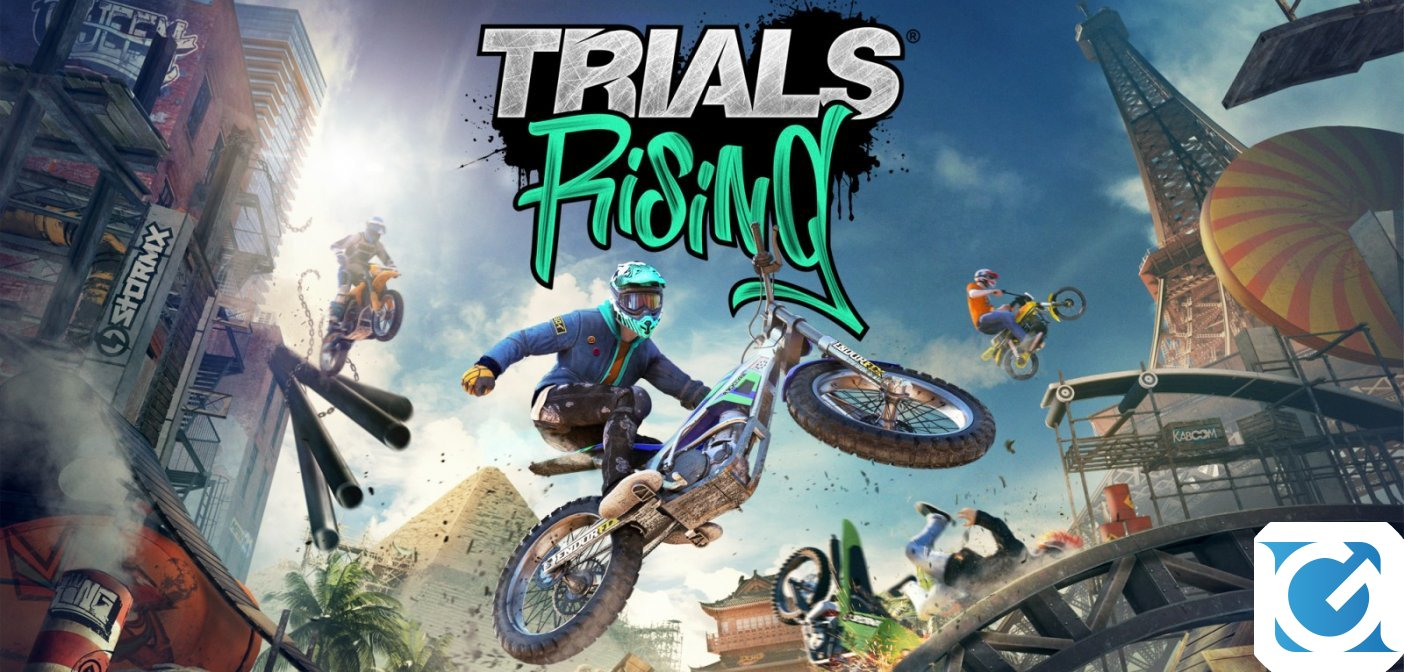 Trials Rising è ora disponibile su PC e console