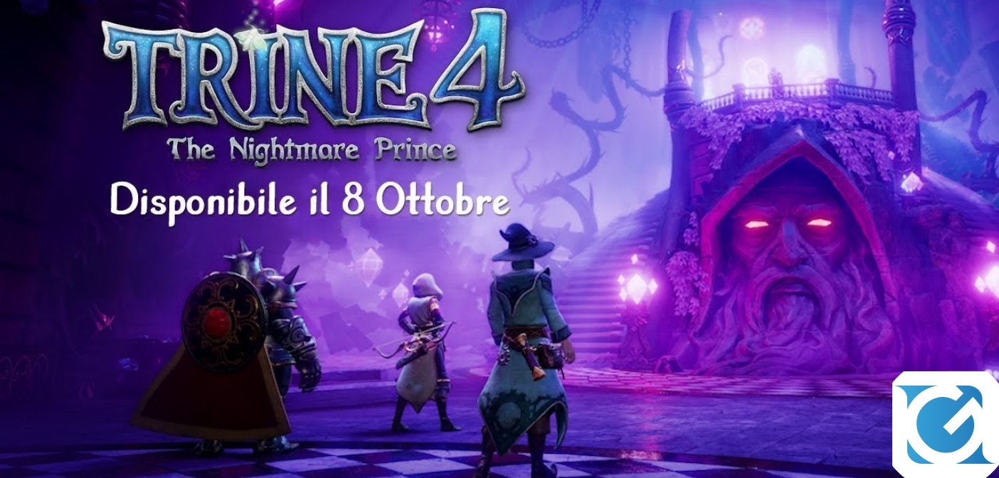 Trine 4: The Nightmare Prince: svelata la data d'uscita