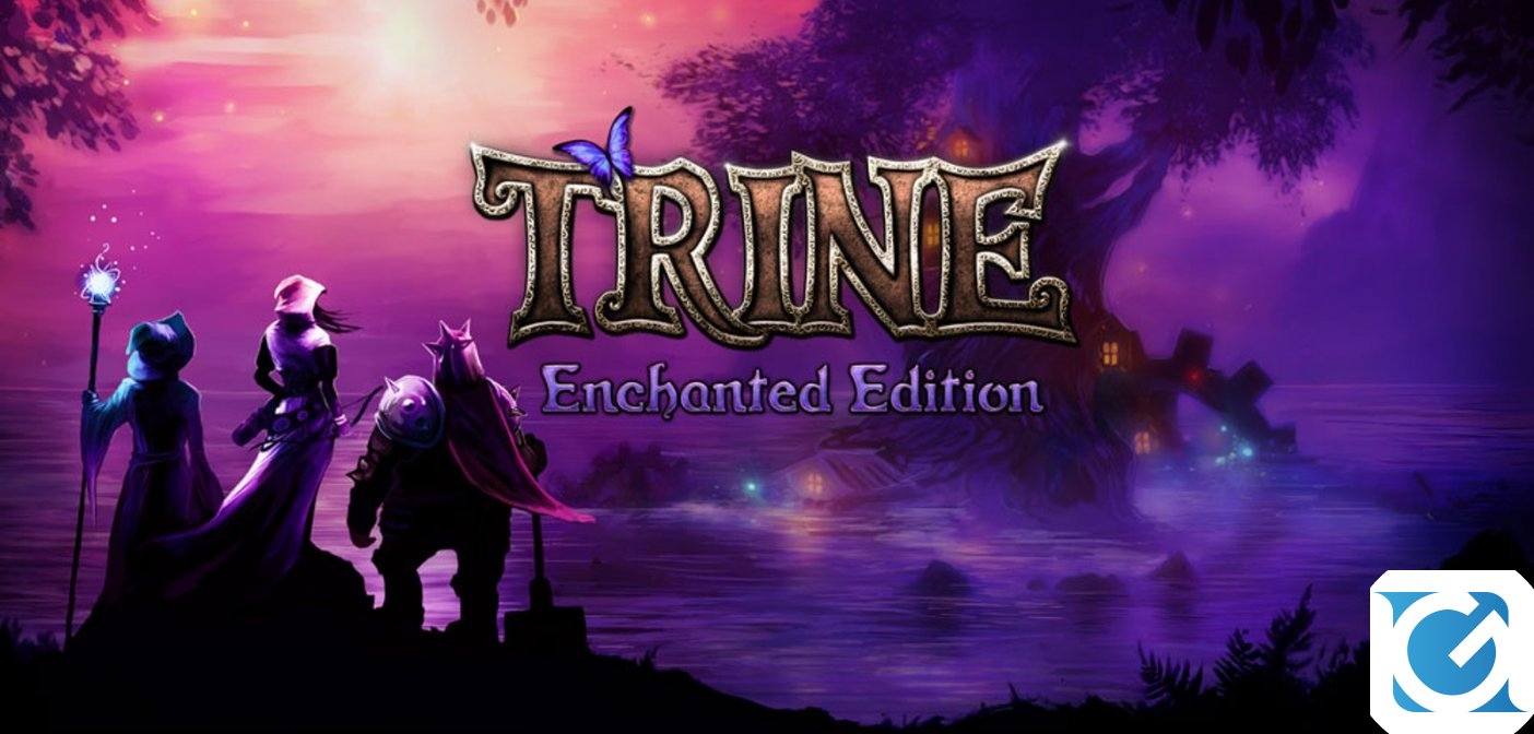Trine Enchanted Edition è disponibile su Switch
